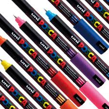 Posca marker / ultra fine 0.7mm Black