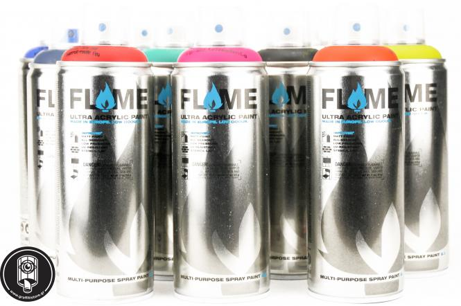 12 Flame low cans promo set