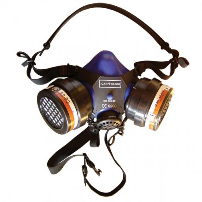 Ican 30 - 500 protection mask.Filters included