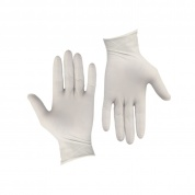 10 Pair of latex gloves