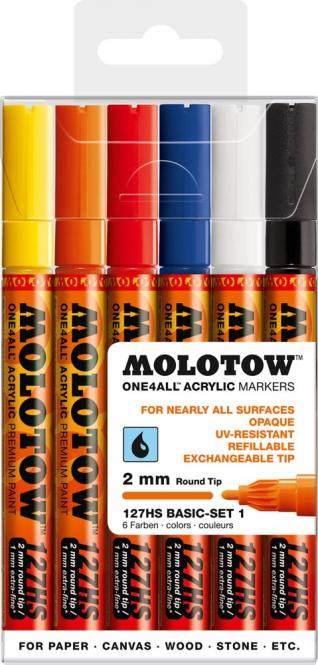 MOLOTOW 2mm one4all Acrylic Markers