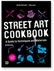 Streetart Cookbook Softcover book