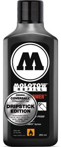 Molotow TF Refill 250ml Dripstick Edt. recharge ink black